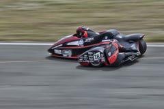 Sidecar 4. Sidecar world championship at Grobnik in Croatia 15.6.2014 Royalty Free Stock Photo