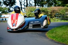 Sidecars in Scarborough Stock Foto