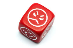 Sided dice Royalty Free Stock Photo