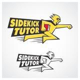 Sidekick Tutor. Symbol for design use Stock Photography