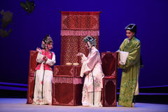 "On the sidelines of chess-Kunqu Opera ""the West Chamber"" Stock Photos"