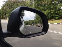 Sidemirror of Car Royalty Free Stock Image