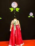 Siden- kappa på festivalen av Orienten i Rome Italien Arkivfoto