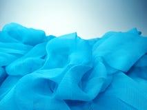 Siden- materiella vågor för abstrakt bakgrund Royaltyfri Bild