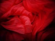 Siden- materiella vågor för abstrakt bakgrund Royaltyfria Foton