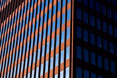 Sides of a Skyscraper Stock Photography