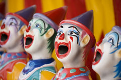 Sideshow clowns Stock Photo