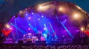 Sidestepper en Bristol Festival Images libres de droits