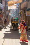 A sidestreet in Jodhpur Royalty Free Stock Images