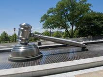 Sideview молотка Верховным Судом Огайо стоковое фото rf