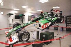 Sideview av bolid F1 Royaltyfria Foton