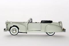 Sideview clásico continental 1941 del coche del juguete de Lincoln Imágenes de archivo libres de regalías