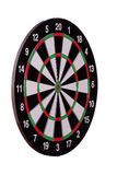 Sideview of dart board Royalty Free Stock Photography