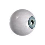 Sideview de la bola del ojo azul Imágenes de archivo libres de regalías