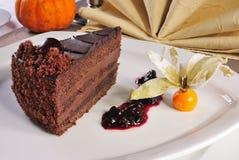Sideview del choclate-dolce di Yummi fotografia stock