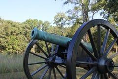Sideview delantero del cañón Fotografía de archivo