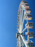Sideview of the Giant Wheel Stock Images