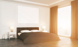 Sideview of luxury bedroom Royalty Free Stock Photography