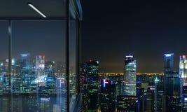 Sideview panoramique de balcon illustration de vecteur