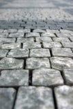 Sidewalk. The closeup of stone sidewalk Royalty Free Stock Photos