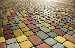 Sidewalk. Image colored sidewalk as background Royalty Free Stock Images