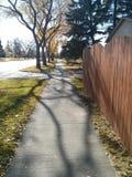 sidewalk Foto de Stock