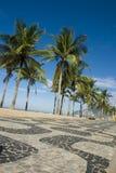 Sidewalk. Ipanema Sidewalk, Rio de Janeiro, Brazil Royalty Free Stock Images