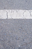 Sidewalk asphalt road with cracks Stock Photos