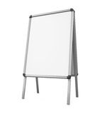 Sidewalk Blank Whiteboard Royalty Free Stock Photography