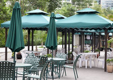 Sidewalk Cafe Stock Photography