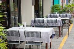 Sidewalk cafe Royalty Free Stock Image