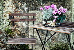 Free Sidewalk Cafe Royalty Free Stock Image - 46695016