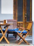 Sidewalk Cafe Royalty Free Stock Photos