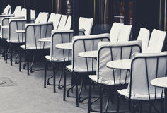 Sidewalk cafe in Paris Stock Photography