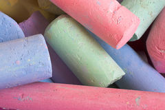 Sidewalk Chalk Stock Images