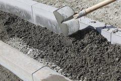Sidewalk construction Stock Photos