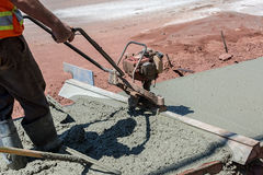 Sidewalk Construction Stock Images