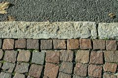 Sidewalk - Detail Stock Photos