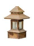 Sidewalk garden lamp Stock Photography