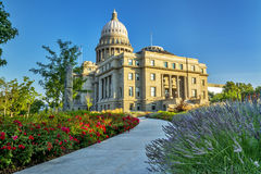 Sidewalk leading to the Idaho Capital building Stock Images