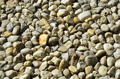 Sidewalk made of stones Stock Photos