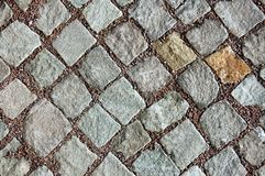 Sidewalk pattern. Sidewalk texture can be used as background Stock Photos