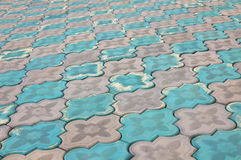 Sidewalk pattern Stock Image
