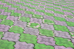 Sidewalk pattern Royalty Free Stock Image
