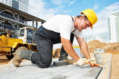 Free Sidewalk Pavement Construction Works Stock Photo - 21701360