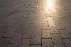 Sidewalk pavement texture Royalty Free Stock Image