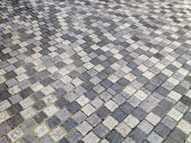 Sidewalk or pedestal in stone style floor Stock Photography