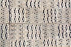 Sidewalk print pattern Royalty Free Stock Photo