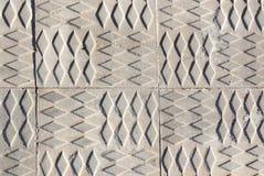 Sidewalk print pattern Stock Photos