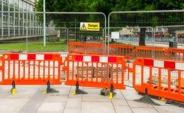 Sidewalk  repair. Royalty Free Stock Image